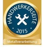 Handwerkerseite des Jahres 2015